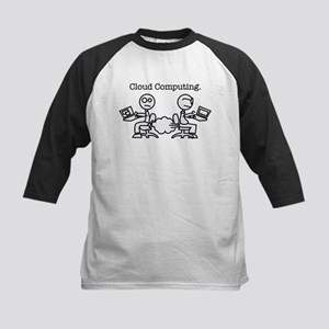 Cloud Computing Kids Baseball Jersey