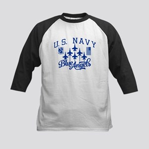 U.S. Navy Blue Angels Squadron Kids Baseball Tee