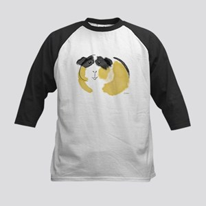 Watercolor Piggie Kids Baseball Jersey