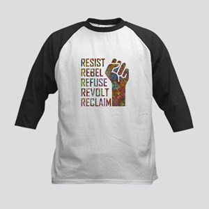 RESIST, REBEL... Baseball Jersey
