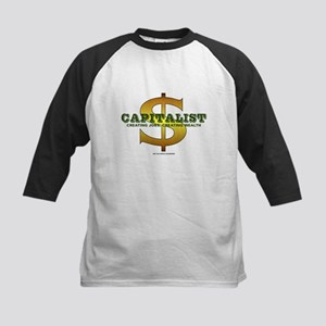 2-Capitalist-10x10_apparel Kids Baseball Tee