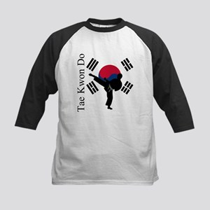 TKD Flag Kids Baseball Tee