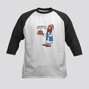 Happy Birthday Jesus Christmas Baseball Jersey