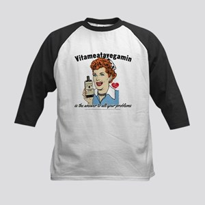 Lucy Answer to All Your Problems Kids Baseball Tee