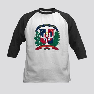 Dominican Republic Coat Of Arms Kids Baseball Jers