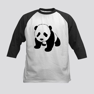 Panda Bear Kids Baseball Jersey