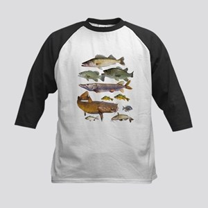 All Game Fish Baseball Jersey