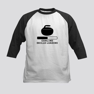 Curling Skills Loading Baseball Jersey