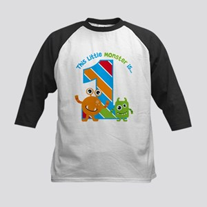 Little Monster 1st Birthday Baseball Jersey