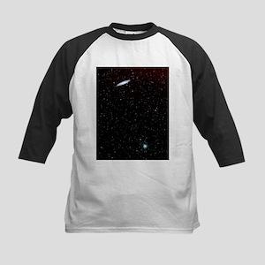 Spiral galaxy NGC 253 - Kids Baseball Jersey