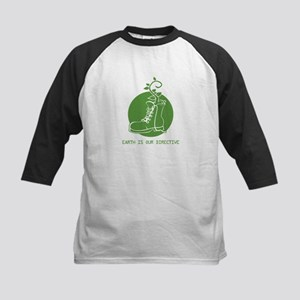 EARTH IS OUR DIRECTIVE Kids Baseball Jersey