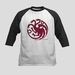 Game of Thrones House Targary Kids Baseball Jersey