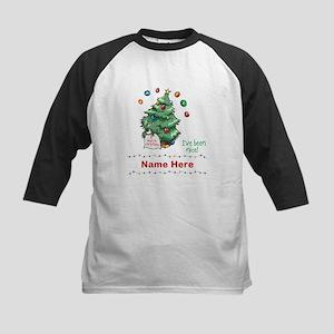 Custom Christmas Tree Baseball Jersey