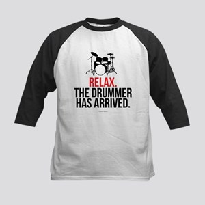 Relax Drummer Has Arrived Baseball Jersey