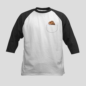 Hamster pocket pal Kids Baseball Jersey