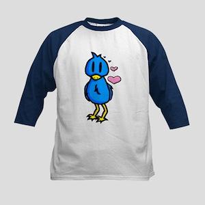Blue Birdie Kids Baseball Jersey