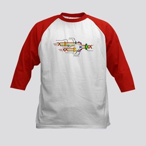DNA Synthesis Kids Baseball Jersey