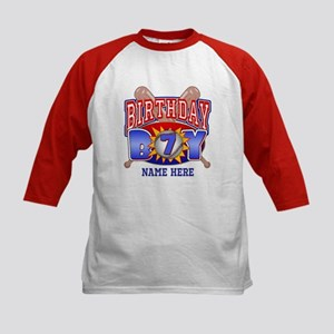 Baseball 7th Birthday Kids Baseball Jersey