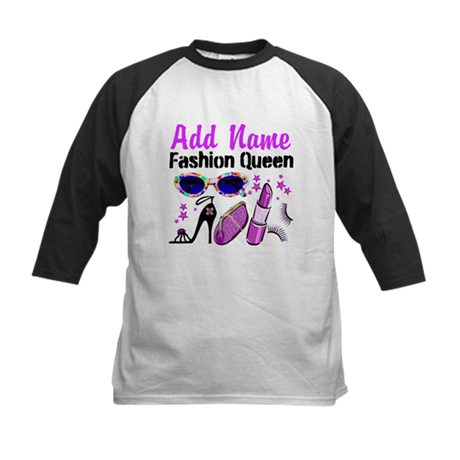 FASHION QUEEN Kids Baseball Jersey