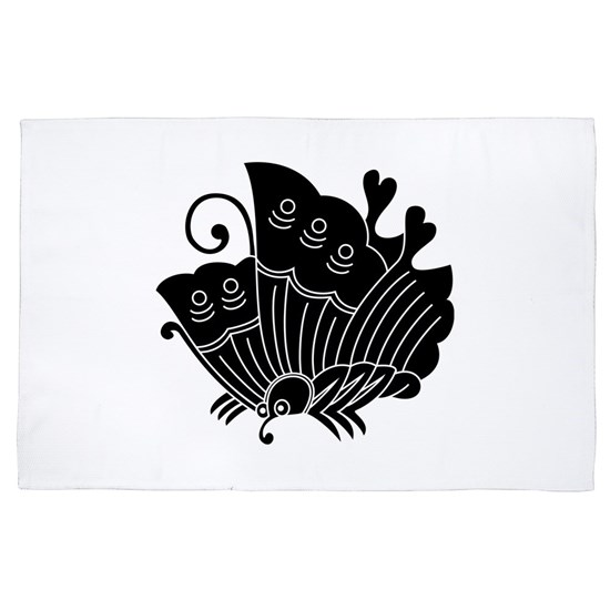 Ageha Butterfly 4 X 6 Rug By Gari Cafepress
