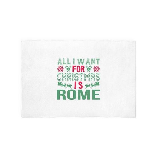 All I Want Christmas Rome Holidays