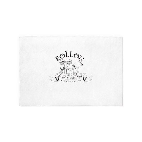 Rollo's Magic Mushrooms Viking t-shirts