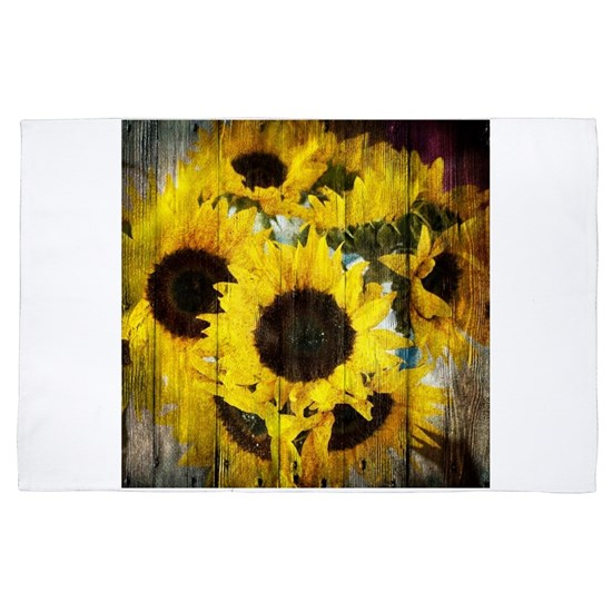 western country yellow sunflower