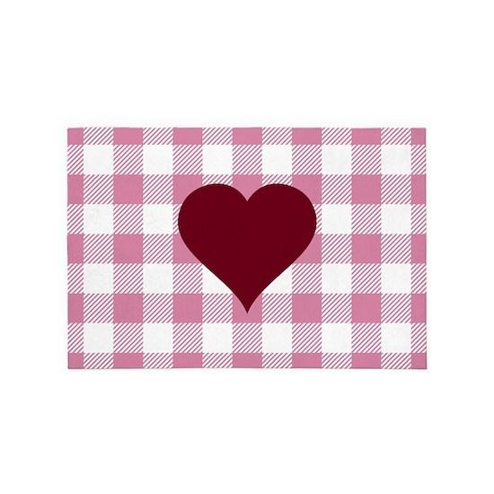 Buffalo Plaid: Heart