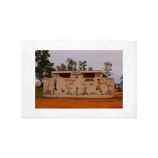 Outback toilet block, Australia