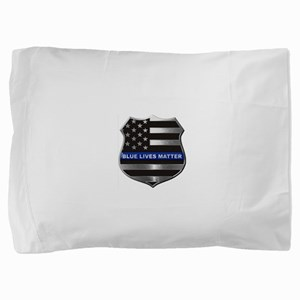 Blue Lives Matter Pillow Sham