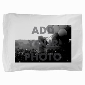 Add Your Photo Pillow Case Pillow Sham
