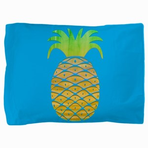 Colorful Pineapple Pillow Sham