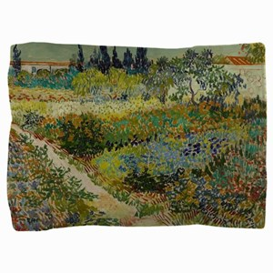 Garden at Arles - Van Gogh Pillow Sham