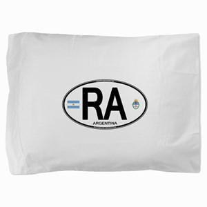 Argentina Euro Oval Pillow Sham