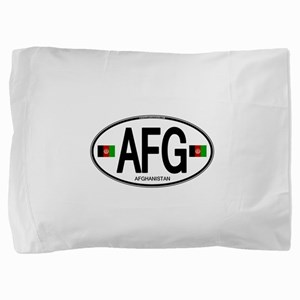 Afghanistan Euro Oval Pillow Sham