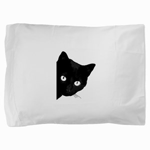 BLACK CAT Pillow Sham