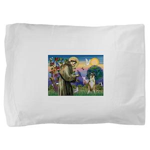 Saint Francis & Boxer Pillow Sham