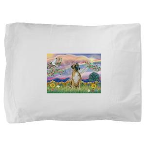 Cloud Angel & Boxer Pillow Sham