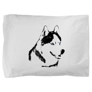 Husky Malamute Sled Dog Pillow Sham