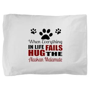 Hug The American Eskimo Pillow Sham