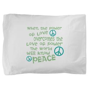 World Peace Pillow Sham