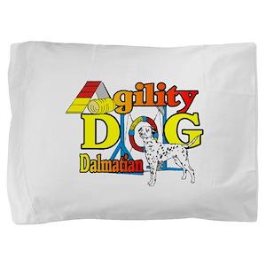 Dalmatian Agility Pillow Sham