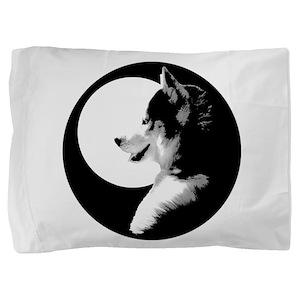 Siberian Husky Malamute Sled Dog Pillow Sham
