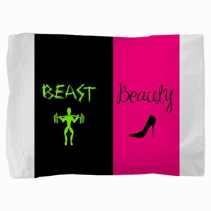 Beast & Beauty Pillow Sham