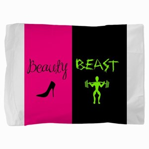 Beauty Beast Pillow Sham