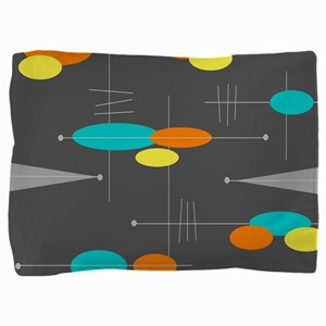 Space Age Spheres Pillow Sham