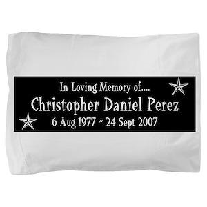CDP3Y1WHT Pillow Sham