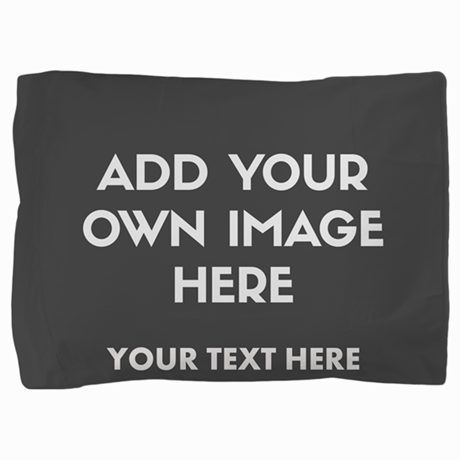 Add Your Own Image Pillow Sham