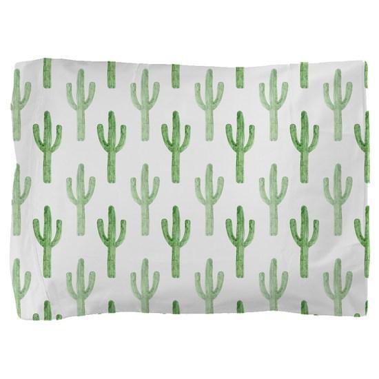 Cute Watercolor Cactus Pattern
