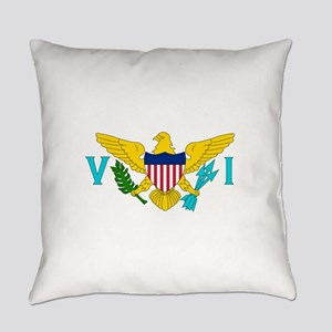 United States Virgin Islands Everyday Pillow